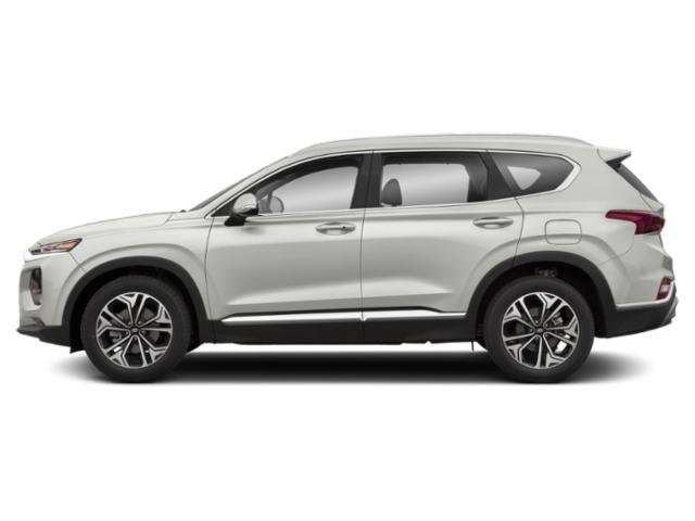 2019 Quartz White Hyundai Santa Fe Ultimate 4 Door Automatic SUV 2.0L 4-Cylinder Turbocharged Engine AWD