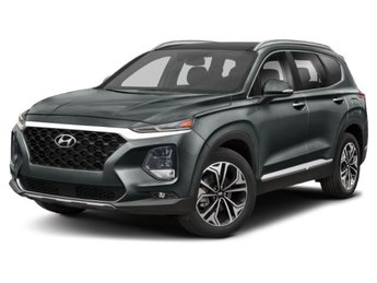 2019 Rainforest Hyundai Santa Fe Limited 4 Door AWD 2.0L 4-Cylinder Turbocharged Engine Automatic SUV