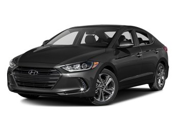 2017 Phantom Black Hyundai Elantra Limited 2.0L 4-Cylinder Engine FWD Automatic
