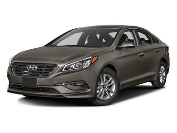 2017 Dark Truffle Hyundai Sonata Eco Sedan Automatic 1.6L 4-Cylinder Turbocharged Engine 4 Door