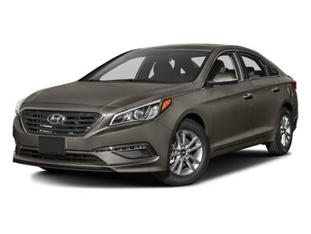 2017 Dark Truffle Hyundai Sonata Eco 1.6L 4-Cylinder Turbocharged Engine 4 Door Automatic FWD