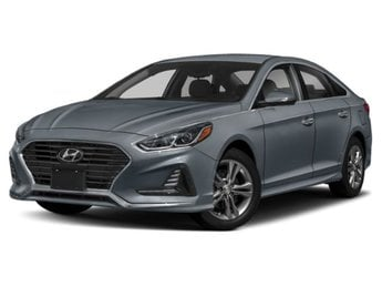 2019 Machine Gray Hyundai Sonata SE 4 Door 2.4L 4-Cylinder Engine FWD
