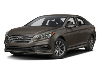 2017 Hyundai Sonata Sport Sedan 2.4L 4-Cylinder Engine FWD Automatic 4 Door
