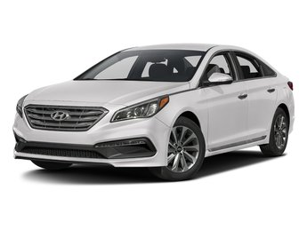 2017 Quartz White Pearl Hyundai Sonata Sport FWD Automatic 2.4L 4-Cylinder Engine Sedan 4 Door