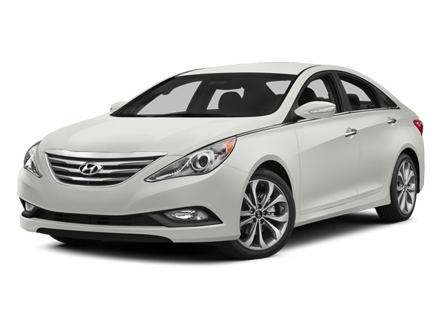 2014 Pearl White Hyundai Sonata Limited Sedan 2.0L 4-Cylinder DGI Turbocharged Engine 4 Door FWD