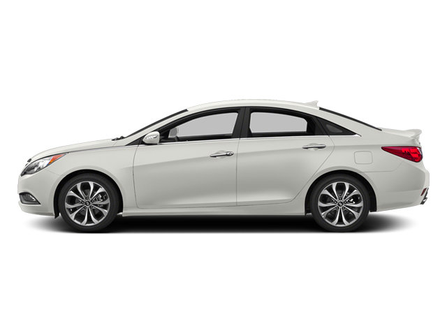 2014 Pearl White Hyundai Sonata Limited Automatic Sedan 4 Door FWD 2.0L 4-Cylinder DGI Turbocharged Engine