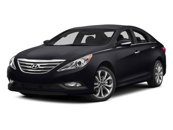 2014 Phantom Black Metallic Hyundai Sonata Limited Automatic 2.4L I4 DGI DOHC 16V ULEV II 190hp Engine Sedan