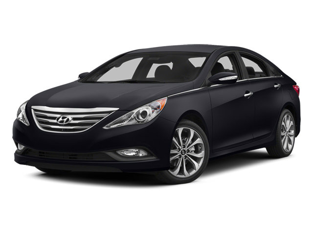 2014 Phantom Black Metallic Hyundai Sonata Limited 4 Door FWD Automatic 2.4L I4 DGI DOHC 16V ULEV II 190hp Engine Sedan