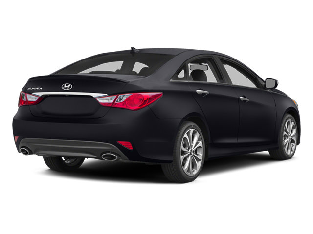 2014 Phantom Black Metallic Hyundai Sonata Limited Sedan 4 Door FWD