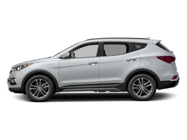 2018 Pearl White Hyundai Santa Fe Sport 2.0T Ultimate Automatic 4 Door 2.0L 4-Cylinder Turbocharged Engine AWD