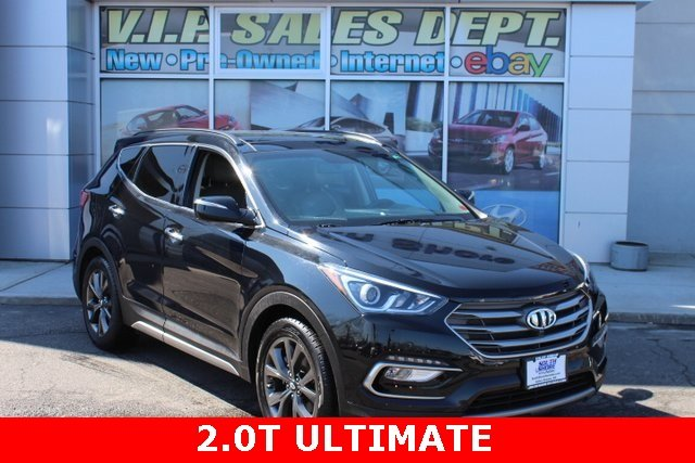 2017 Hyundai Santa Fe Sport 2.0T Ultimate AWD 2.0L I4 DGI DOHC 16V Turbocharged Engine 4 Door SUV