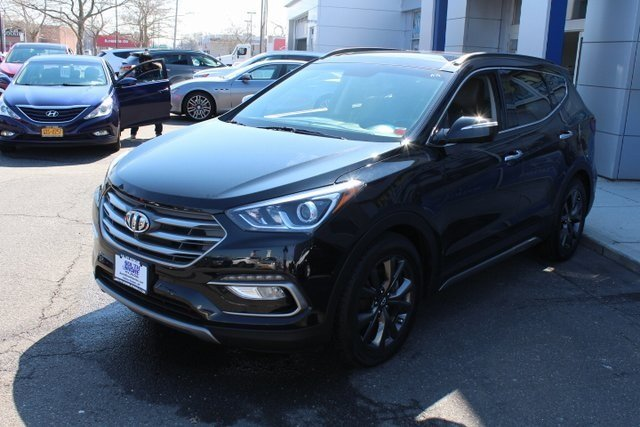 2017 Twilight Black Hyundai Santa Fe Sport 2.0T Ultimate Automatic SUV 4 Door