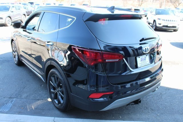 2017 Twilight Black Hyundai Santa Fe Sport 2.0T Ultimate AWD 2.0L I4 DGI DOHC 16V Turbocharged Engine Automatic SUV 4 Door