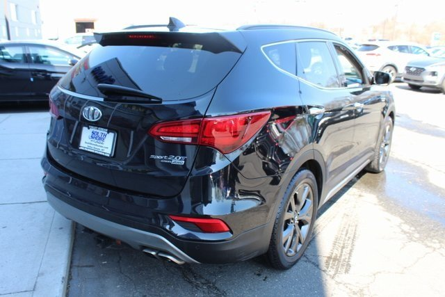 2017 Hyundai Santa Fe Sport 2.0T Ultimate 2.0L I4 DGI DOHC 16V Turbocharged Engine AWD 4 Door