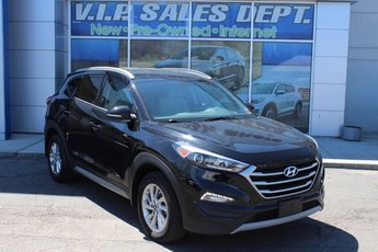 2017 Black Noir Pearl Hyundai Tucson Eco SUV 4 Door 1.6L I4 DGI Turbocharged DOHC 16V ULEV II 175hp Engine