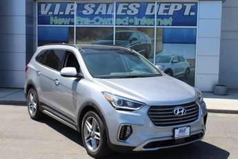 2017 Iron Frost Hyundai Santa Fe Limited Ultimate 3.3L V6 DGI DOHC 24V Engine Automatic AWD