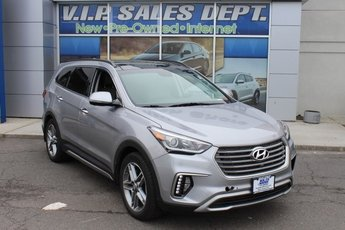 2017 Iron Frost Hyundai Santa Fe Limited Ultimate 3.3L V6 DGI DOHC 24V Engine 4 Door SUV Automatic