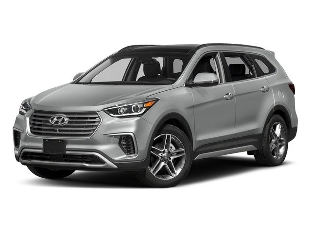2018 Circuit Silver Hyundai Santa Fe Limited Ultimate Automatic AWD SUV 3.3L 6-Cylinder Engine 4 Door