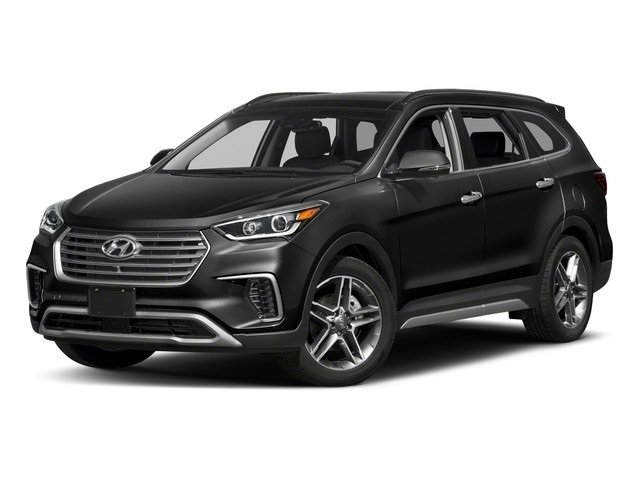 2018 Hyundai Santa Fe Limited Ultimate SUV Automatic 4 Door AWD 3.3L 6-Cylinder Engine