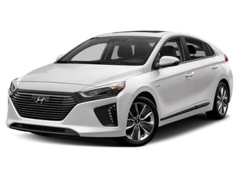 2019 Ceramic White Hyundai Ioniq Hybrid SEL 1.6L 4-Cylinder Engine FWD Automatic 4 Door Hatchback