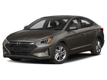 2020 Fluid Metal Hyundai Elantra SEL 4 Door FWD Automatic (CVT) Sedan 2.0L 4-Cylinder Engine