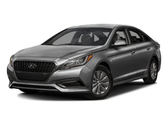 2016 Pewter Gray Metallic Hyundai Sonata Hybrid SE Automatic Sedan FWD