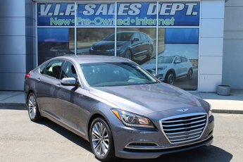 2015 Empire State Gray Hyundai Genesis 3.8L Sedan AWD 4 Door 3.8L V6 DGI DOHC Dual CVVT Engine Automatic