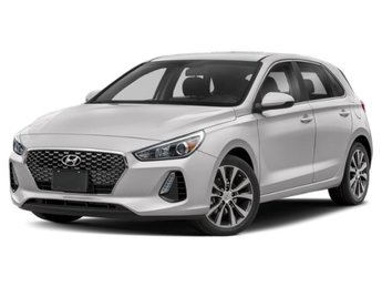 2019 Ceramic White Hyundai Elantra GT Base FWD 2.0L 4-Cylinder Engine Hatchback 4 Door Automatic