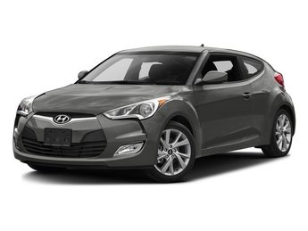 2016 Ironman Silver Hyundai Veloster Base 3 Door Hatchback FWD 1.6L 4-Cylinder Engine