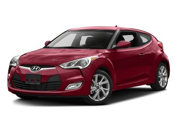 2016 Boston Red Hyundai Veloster Base 1.6L 4-Cylinder Engine FWD Automatic