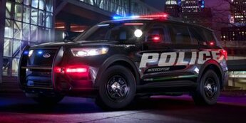 2021 Agate Black Ford Utility Police Interceptor Base AWD SUV 4 Door