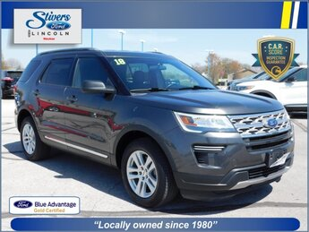 2018 Ford Explorer XLT 3.5L V6 Ti-VCT Engine Automatic 4 Door SUV
