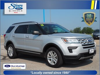 2019 Ingot Silver Metallic Ford Explorer XLT Automatic SUV 2.3L I4 Engine