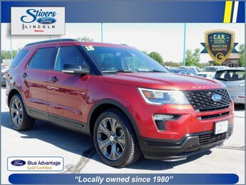 2018 Ford Explorer Sport 4X4 4 Door 3.5L Engine SUV Automatic