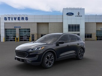 2021 Agate Black Metallic Ford Escape SE 2.5L iVCT Engine Automatic (CVT) 4 Door SUV