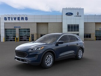 2021 Antimatter Blue Metallic Ford Escape SE Automatic 1.5L EcoBoost Engine 4 Door SUV FWD