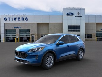 2021 Velocity Blue Metallic Ford Escape SE FWD SUV Automatic 1.5L EcoBoost Engine 4 Door