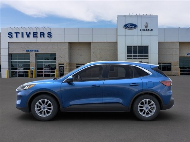 2021 Velocity Blue Metallic Ford Escape SE FWD 4 Door 1.5L EcoBoost Engine SUV