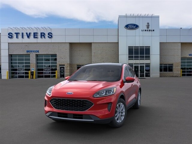 2021 Rapid Red Metallic Tinted Clearcoat Ford Escape SE 4 Door FWD 1.5L EcoBoost Engine Automatic SUV