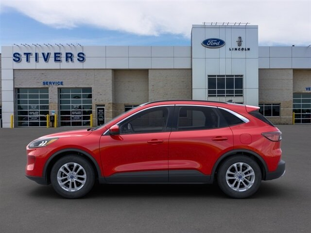 2021 Rapid Red Metallic Tinted Clearcoat Ford Escape SE Automatic SUV FWD 1.5L EcoBoost Engine 4 Door