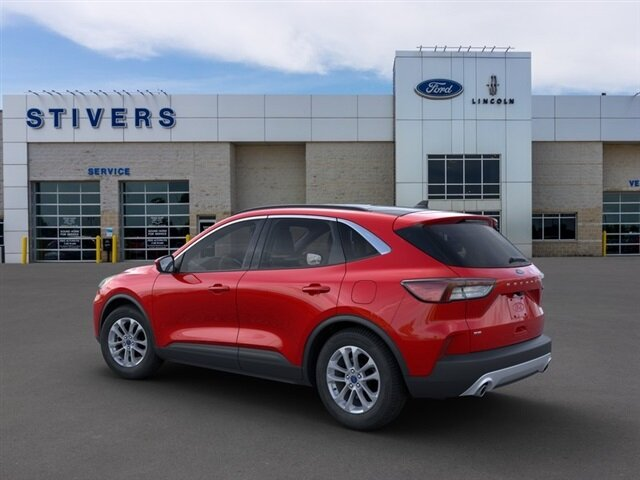 2021 Rapid Red Metallic Tinted Clearcoat Ford Escape SE 1.5L EcoBoost Engine Automatic FWD