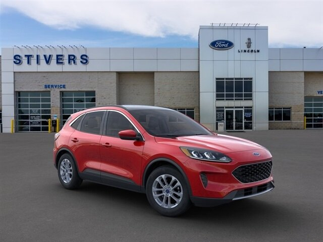 2021 Rapid Red Metallic Tinted Clearcoat Ford Escape SE FWD Automatic SUV