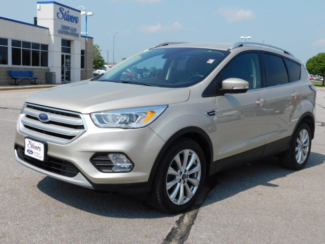 2017 Ford Escape Titanium Automatic EcoBoost 1.5L I4 GTDi DOHC Turbocharged VCT Engine SUV FWD