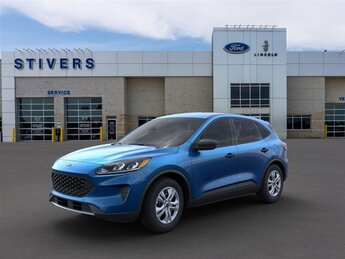 2021 Velocity Blue Metallic Ford Escape S SUV 4 Door AWD
