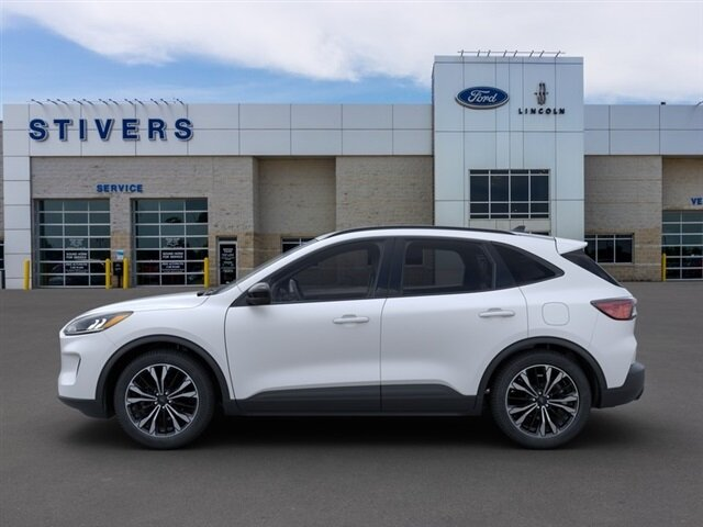 2021 Star White Metallic Tri-Coat Ford Escape SE 4 Door 1.5L EcoBoost Engine Automatic