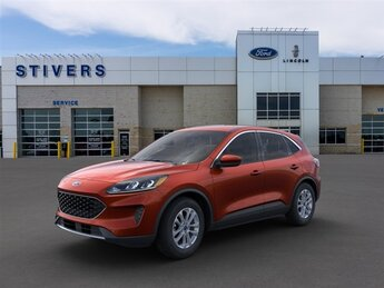 2021 Bronze Fire Metallic Ford Escape SE 4 Door AWD Automatic