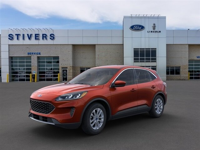 2021 Bronze Fire Metallic Ford Escape SE 1.5L EcoBoost Engine Automatic 4 Door