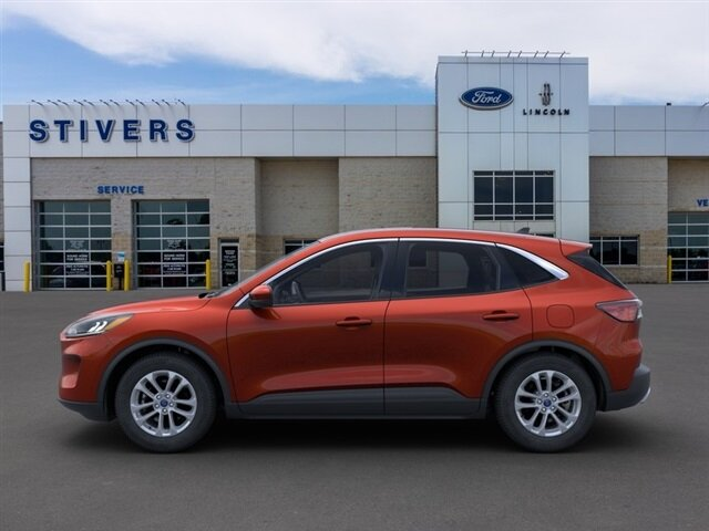 2021 Bronze Fire Metallic Ford Escape SE 1.5L EcoBoost Engine AWD Automatic