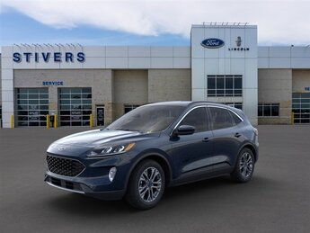 2021 Antimatter Blue Metallic Ford Escape SEL 1.5L EcoBoost Engine SUV 4 Door