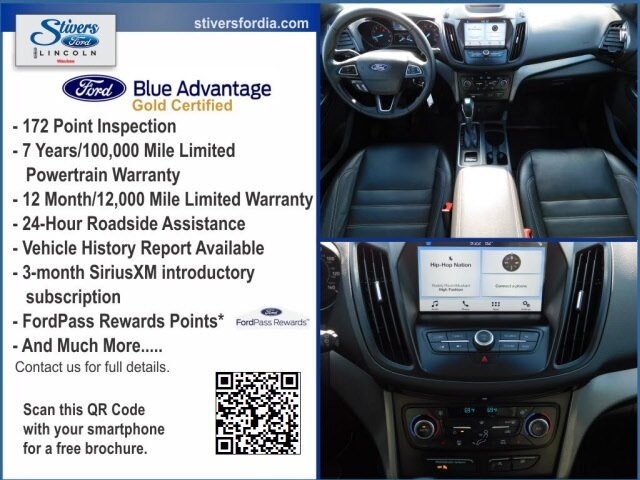 2018 Ford Escape SEL SUV 4X4 1.5L EcoBoost Engine Automatic
